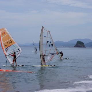 甑海峡横断レース