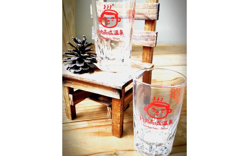 川内高城温泉焼酎お湯割りグラス6個セット
