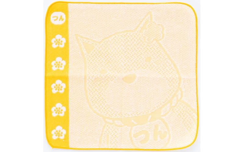 【西郷つん】 ハンドタオル 25cm×25cm