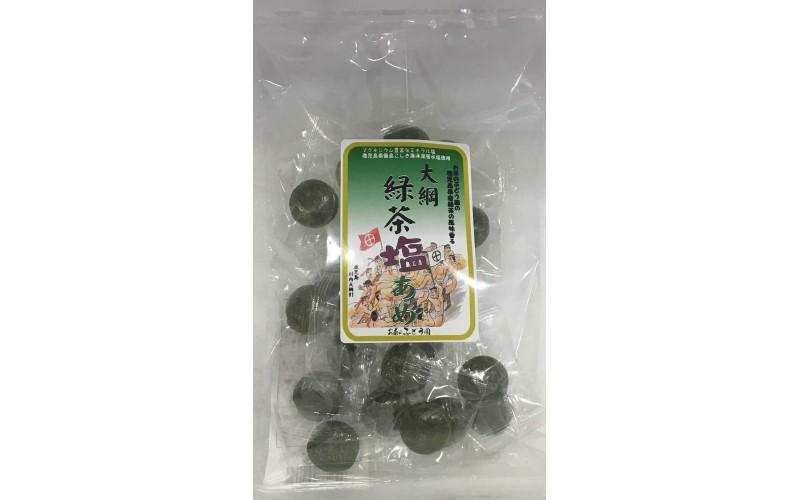 大綱緑茶塩あめ <お茶のぶどう園>