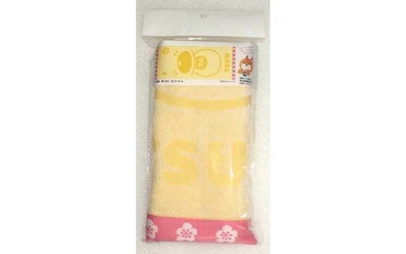 【西郷つん】 フェイスタオル(日本製) 35cm×85cm <薩摩川内市観光物産協会>