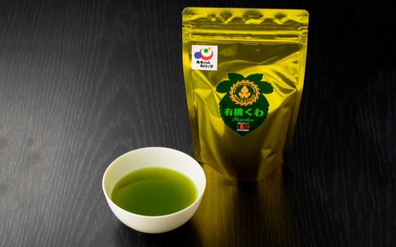 有機くわ茶パウダー 45g <宮園製茶>