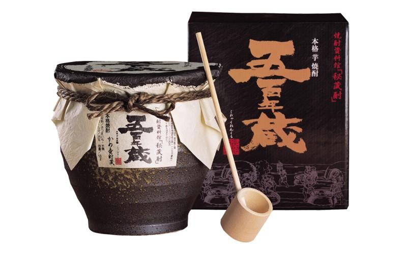 五百年蔵(甕貯蔵)陶器 25度 1800ml <田苑酒造>