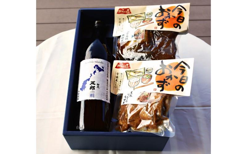 芋焼酎「五郎」とおつまみセット 【送料込】 <吉永酒造><アトスフーズ>