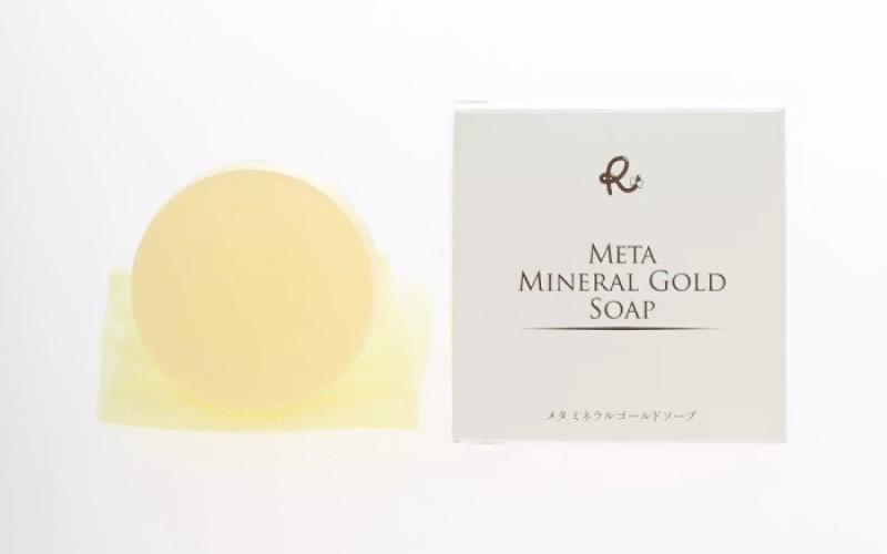 メタミネラルゴールドソープ 80g <ビューティーコスメ凛> wd