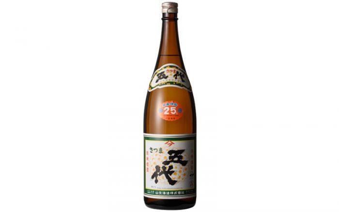 さつま五代 25度 1800ml <山元酒造> 芋焼酎