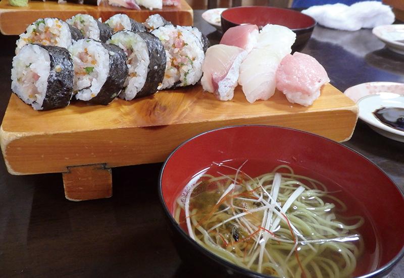 にぎり寿司体験