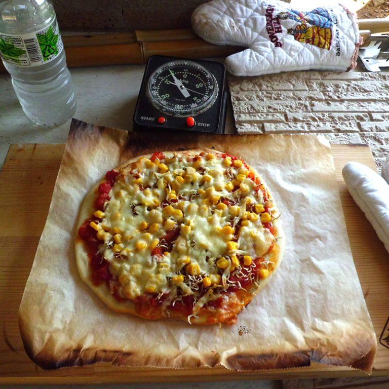 手造りピザ体験