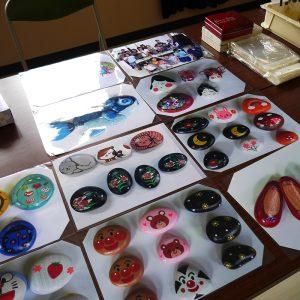 玉石アート体験