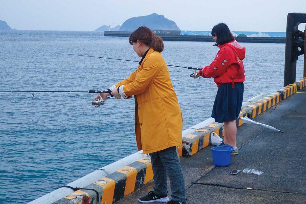 ワクワクお手軽釣り体験