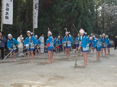 南方神社春祭に伴う芸能(田打)