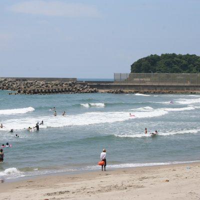 西方海水浴場