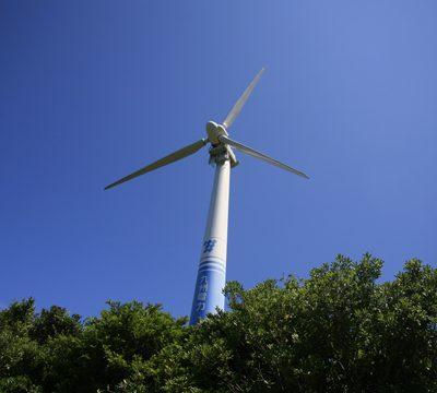 甑島風力発電所
