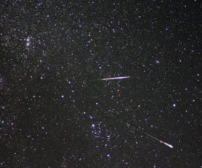 古い記事: ペルセウス座流星群観察会