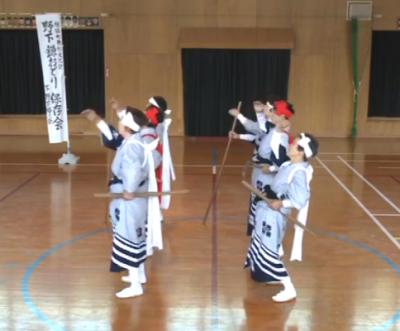 古い記事: 野下鎌踊り
