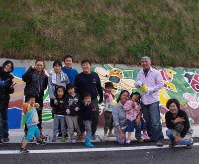 古い記事: 11/16 第2回下甑島子供壁画ワークショップ!♪