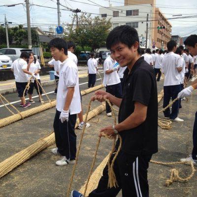 古い記事: 日本一の大綱引き