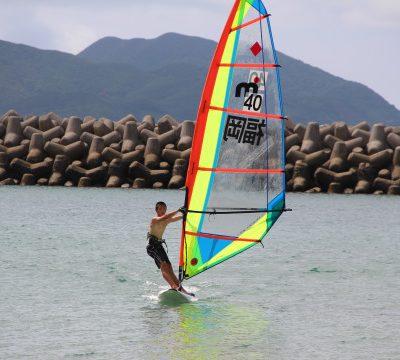 古い記事: 甑海峡横断レースの練習