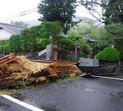 古い記事: 台風一過の入来麓武家屋敷群