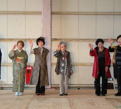 古い記事: きらきらシニアファッションショー