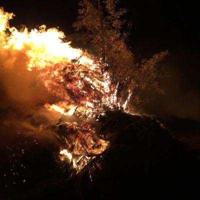古い記事: 鬼火焚き
