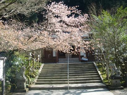 藤川天神 神殿前