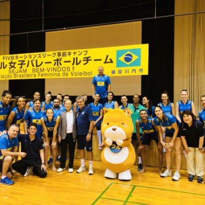 古い記事: ブラジル女子バレーボールチーム合宿 in 薩摩川内