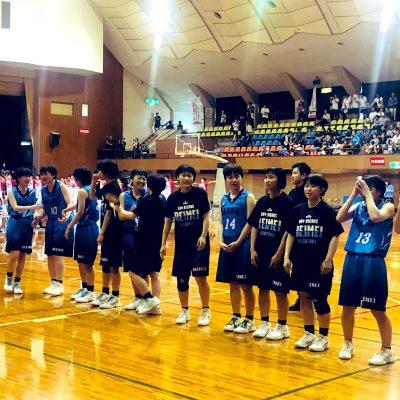 古い記事: インターハイ初出場!れいめい高校女子バスケットボール部